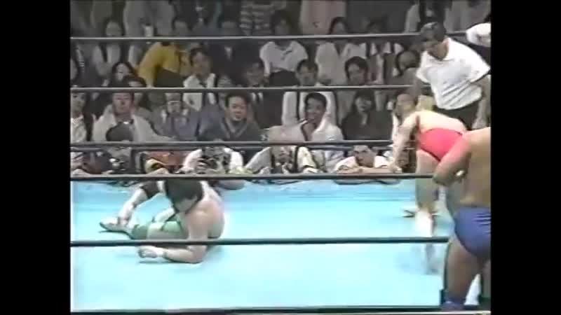 1996.05.17 - Mitsuharu Misawa/Jun Akiyama/Satoru Asako vs. Akira Taue/Yoshinari Ogawa/Kentaro Shiga [JIP]