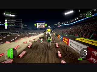 Monster energy supercross 2   first full gameplay   ps4