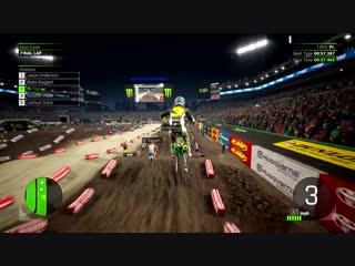 Monster energy supercross 2   first full gameplay   ps4