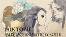 Talk to me | Sally Face animatic | Larrysher | AU