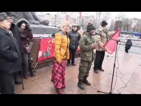 Моя речь на митинге За восстановление СССР в Москве.