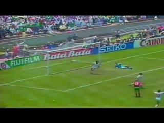 Лучший гол в истории чемпионатов мира по футболу.