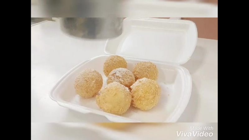 Сладкие шарики. Ресторан доставки Sun Rolls.mp4