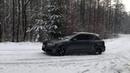 Audi A3 QUATTRO 2.0 TDI 184 PS snow drifting