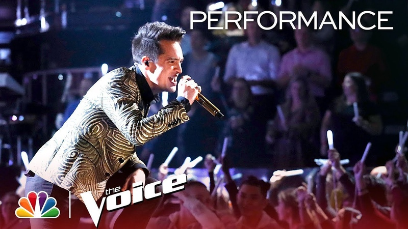 Panic! At The Disco Performs Hey Look Ma, I Made It and High Hopes - The Voice 2018 Live Finale