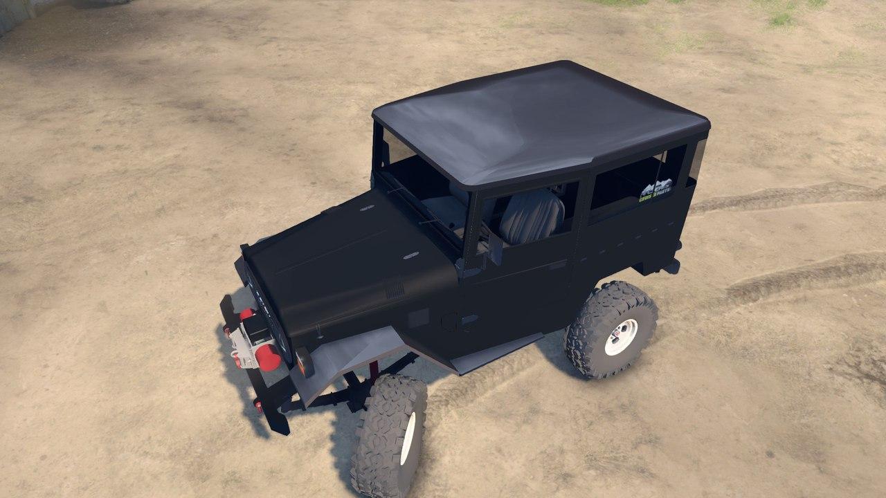 Toyota BJ40 2.0 для версии 13.04.15 для Spintires - Скриншот 3