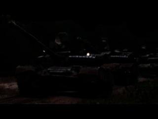 Молния! Танки в Мариуполе, пос Виноградное | Вечер 4 мая 2014