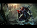 Zed the Master of Shadows Login Screen League of Legends