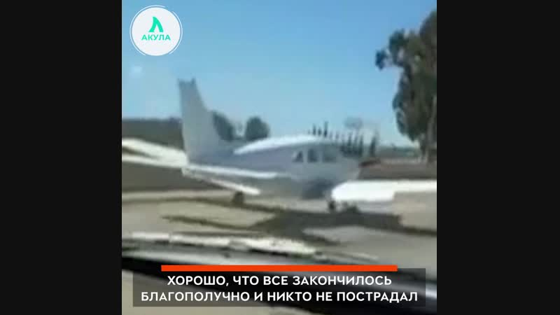 То чувство, когда тебя подрезает самолет | АКУЛА