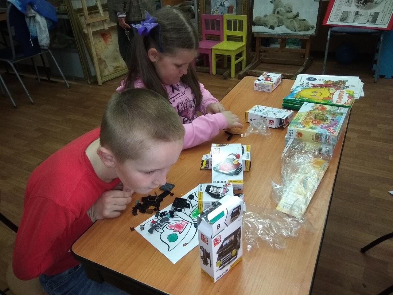 настольная игротека для малышей