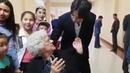 Dimash Kudaibergenov meets his fans and Daneliya Tuleshova