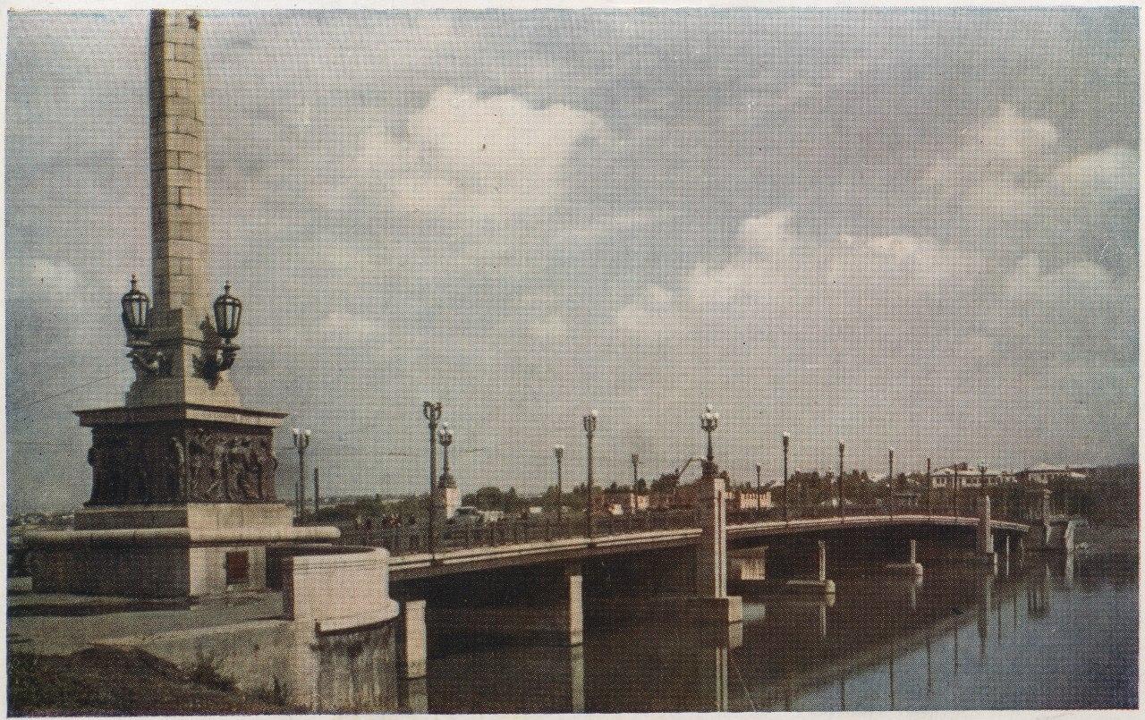 Мост через Кальмиусское водохранилище