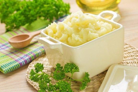 Пюре картофельное вкусное рецепт