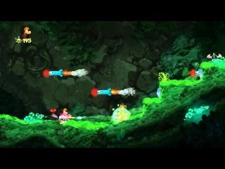 7 - Прохождение Rayman Origins - Приветик, Москит - Тарабарские джунгли