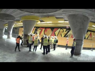 Dni otwarte na stacjach II linii metra - Świętokrzyska