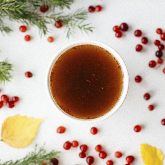 Ощути осень: Чай клюква-можжевельник