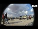 Съёмка скрытой камерой «Злые российские военные заставили боевиков есть солдатскую кашу»