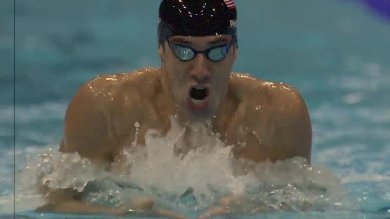 Michael Phelps Wins 200m Individual Medley Gold