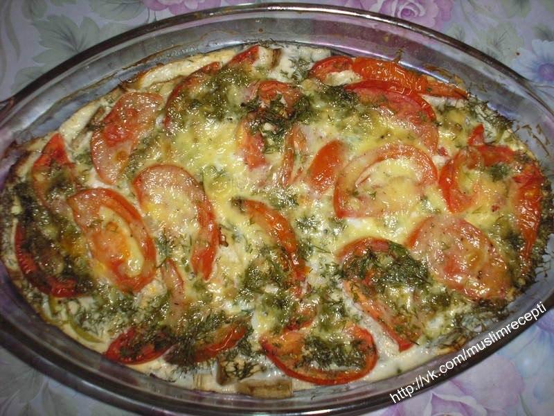 Блюдо из баклажан с картошкой в духовке рецепты