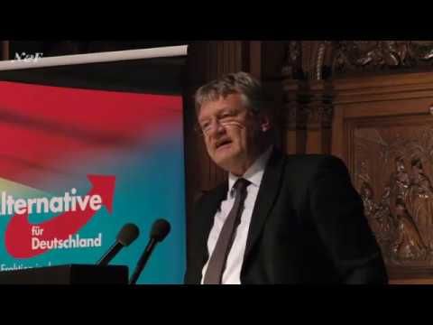 Prof. Dr. Jörg Meuthen in Hamburg mit Anekdoten aus dem EU-Parlament