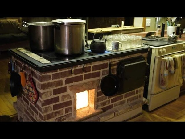 Walker Wood Fired Masonry Cookstove and Oven Build Discussion