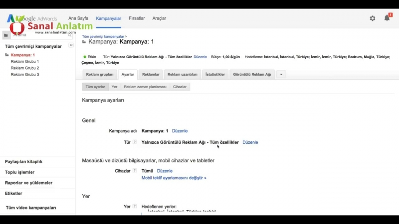 Google AdWords Cihaza Dayalı Teklif Ayarlama new