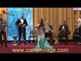 CAIRO MIRAGE-2017 GALA OPENING SHOW BELLYDANCER VERONIKA SHULKEVICH