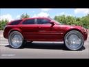 WhipAddict Kandy Red Dodge Magnum SRT8 on New Amani Forged Gordo 32s Louud Pak Doors