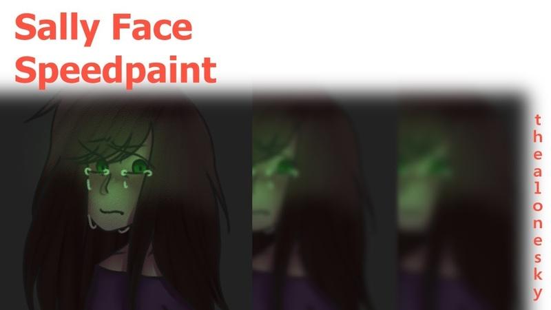 Sally Face | Ashley | Speedpaint (Redraw)
