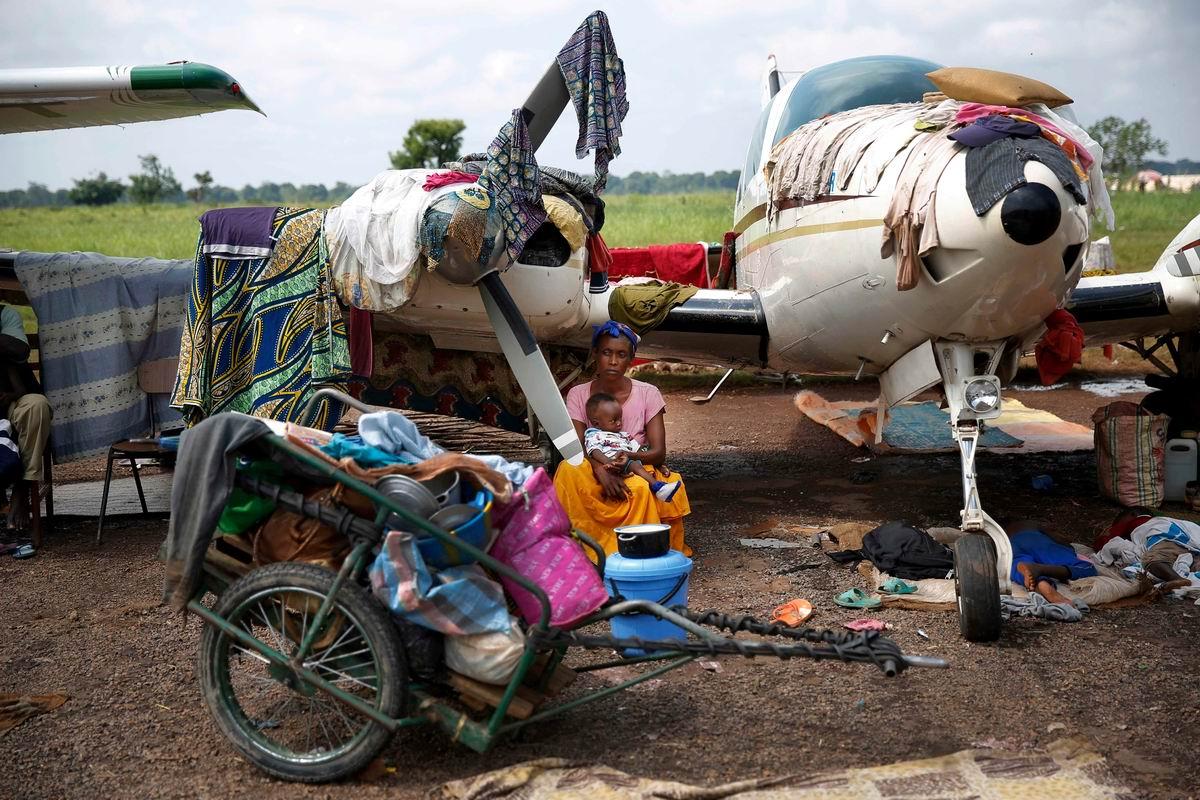 Под крылом самолета: Летучая кочевница на африканский манер