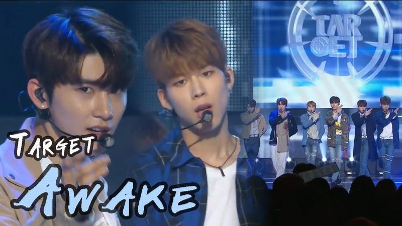 [HOT] TARGET - Awake, 타켓 - 어웨이크 Show Music core 20180303