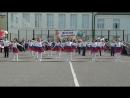 Танец Россия для выпускников Валуйской школы №2 2018 года