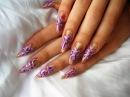 Рисунки на ногтях. Уроки рисования на ногтях - видео урок Uroki-online