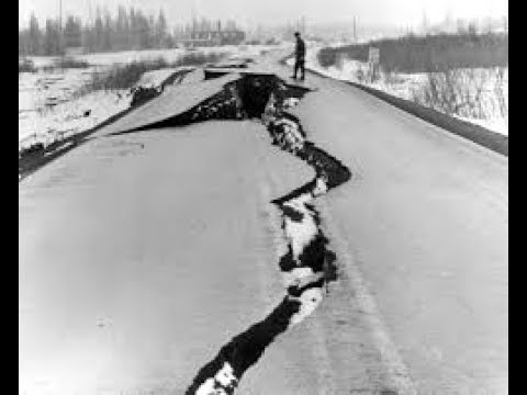 США Сильное землетрясение 7 0 на Аляске Anchorage Alaska earthquake 7 0 Кадр Дня