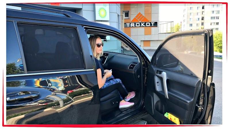 Каркасные автошторки ТРОКОТ / TROKOT ⬛ ТОНИРОВКА АВТО Toyota Land Cruiser Prado 150 2018 7 мест