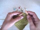 Вязание спицами. Урок 89. Прибавление петель путем провязывания из одной петли двух