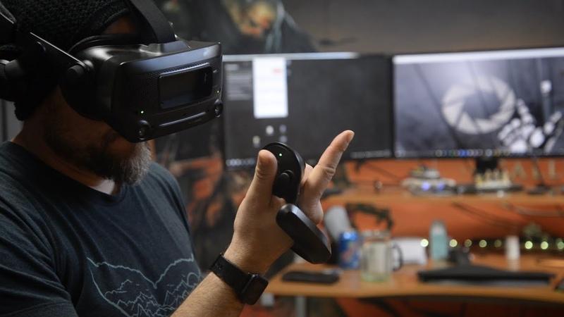 Valve Index - Making of Aperture Hand Labs (VR)