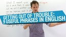 POLITE ENGLISH 9 phrases for getting out of trouble