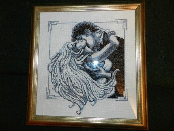 Вышивка крестом мужчина и женщина вышивка 57