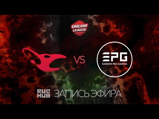 Mousesports vs EPG, DreamLeague Season 7, game 1 [Lex, LightOfHeaven]