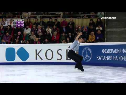 Javier FERNANDEZ FS Cup of Russia 2015 [No commentary]