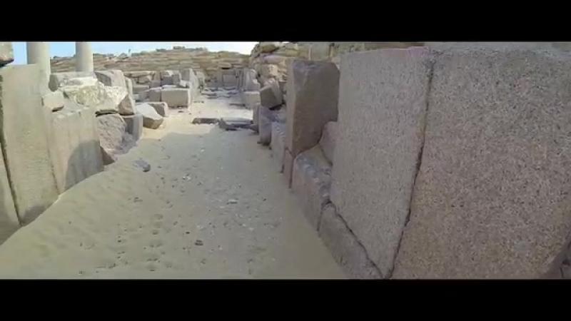 Мир Древних Богов. Пирамида и храм Сахура. (Pyramid and Temple of Sahura) (ЛАИ)