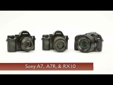 Sony A7 & A7R Full-Frame and RX10 Cameras