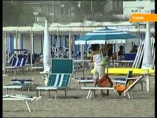 На итальянском пляже сожгли украинку