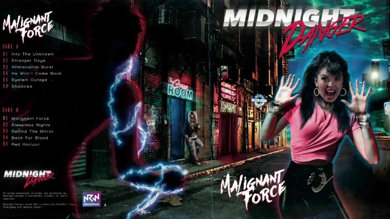 Midnight Danger - Malignant Force (Full Album)