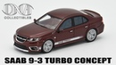 Saab NEVS 9-3 Turbo Prototype DNA Collectibles История марки и обзор масштабной модели 143