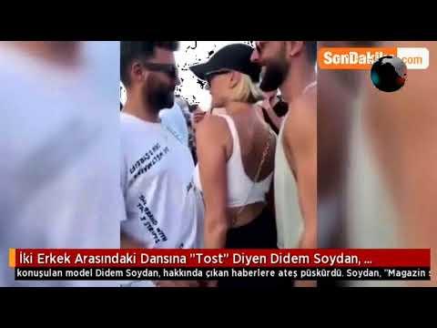 İki Erkek Arasındaki Dansına Tost Diyen Didem Soydan, Eleştirilere Açtı Ağzını Yumdu Gözünü...