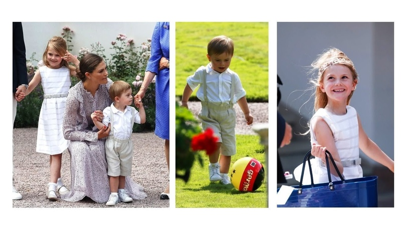 ESTELLE and OSCAR steal the show at VICTORIA OF SWEDEN BIRTHDAY CELEBRATIONS