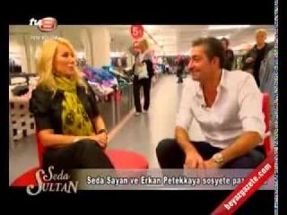 Seda Sayan ve Erkan Petekkaya sosyete pazarinda (2012/11/09)