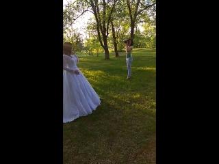 наше КОРОЛЕВСКОЕ платье, фотосессия 20.06.18